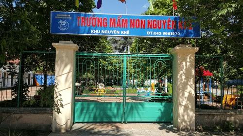 Trường mầm non Nguyên Khuê - Đông Anh, Hà Nội