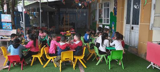 Một tiết học kỹ năng sống tại trường mầm non Hoa Sen, Sơn Tây