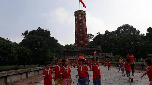 Chuyến tham quan dã ngoại của toàn thể học sinh trường Hoa Sen