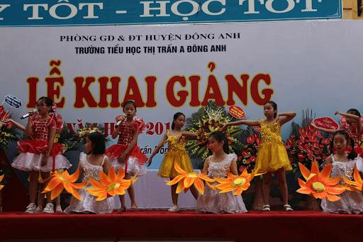 Lễ khai giảng trường tiểu học thị trấn A Đông Anh