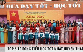 Top 5 trường tiểu học tốt nhất huyện Thanh Trì