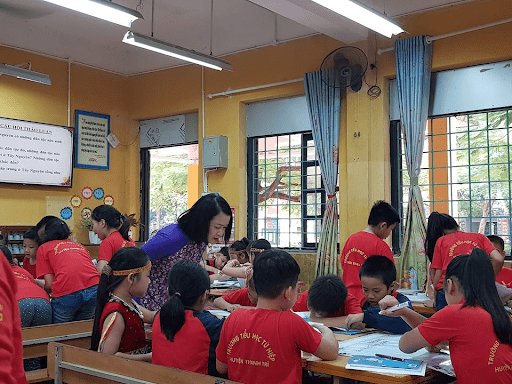 Trường tiểu học Tứ Hiệp - Thanh Trì, Hà Nội