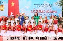 Top 3 trường tiểu học tốt nhất thị xã Sơn Tây