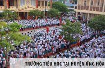 Các trường tiểu học tốt nhất tại huyện Ứng Hòa