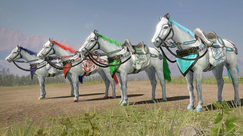 Ngựa chiến sử dụng trong chiến tranh thời xưa