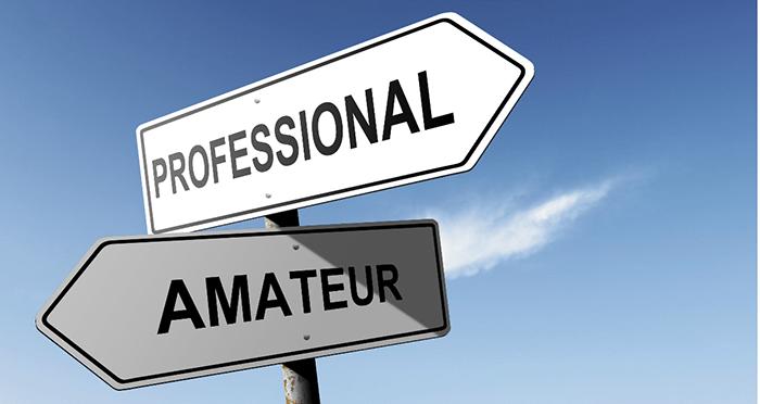 Ngã rẽ giữa nghiệp dư và chuyên nghiệp