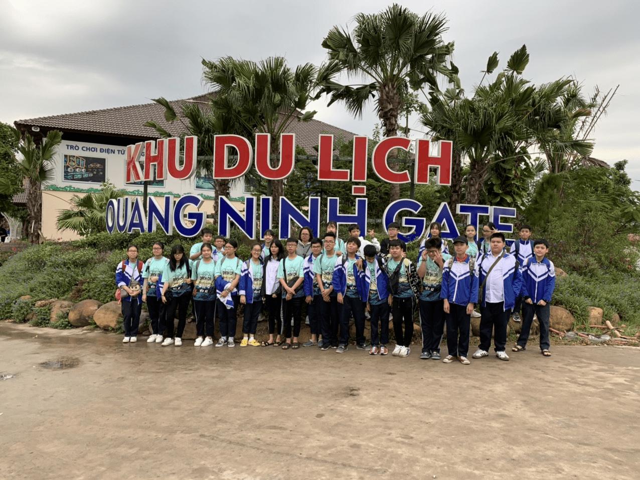 Các em còn được trải nghiệm khu du lịch Quảng Ninh Gate