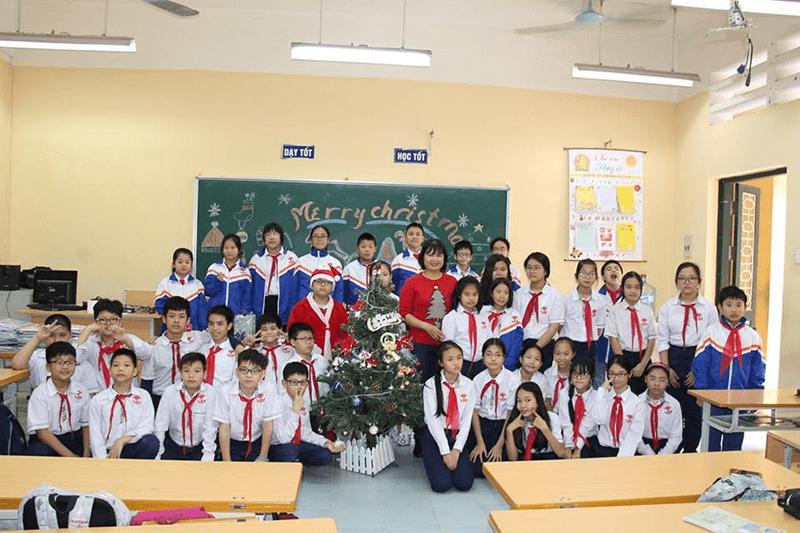 Trường THCS Vân Hồ - phường Lê Đại Hành