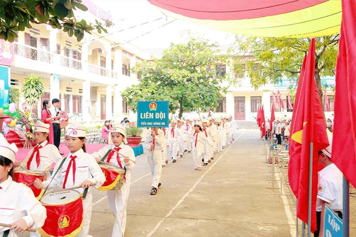 Trường tiểu học Hồng Hà - xã Hồng Hà