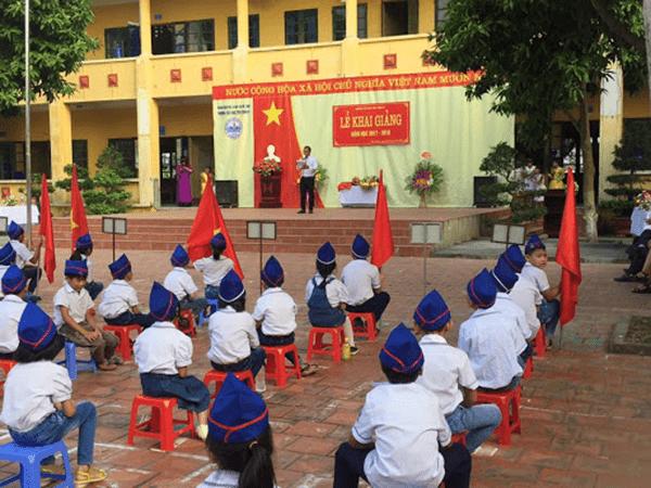 Trường tiểu học Đại Thịnh B - xã Đại Thịnh
