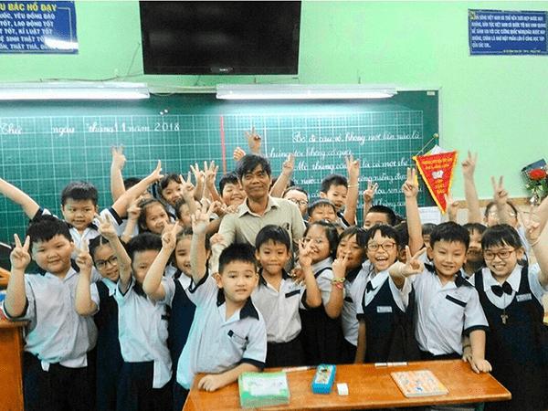 Trường tiểu học Mê Linh - xã Thường Lệ