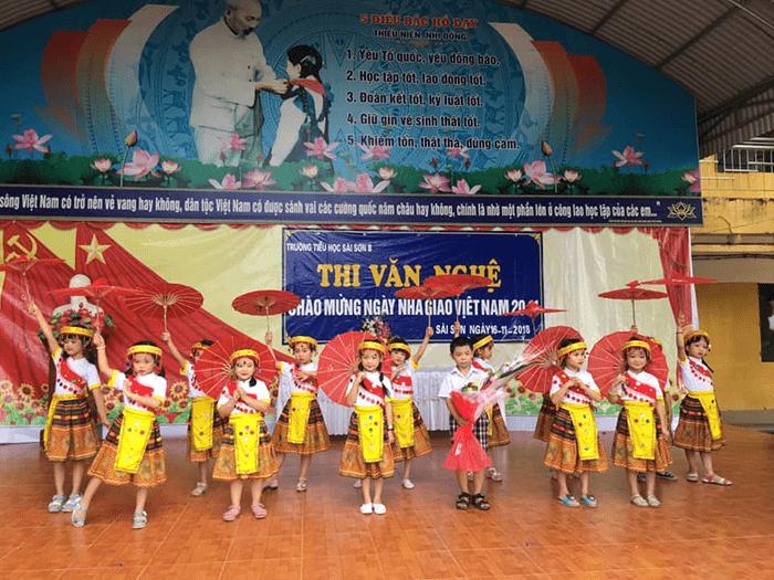 Trường tiểu học Sài Sơn B - xã Sài Sơn