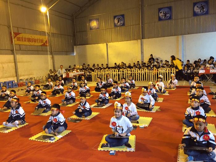 Cuộc thi Rung chuông vàng của trường tiểu học Sài Sơn B