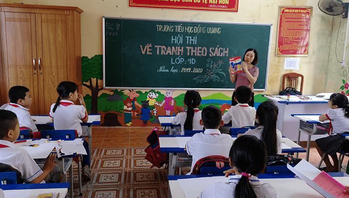 Trường tiểu học Đồng Quang - xã Đồng Quang