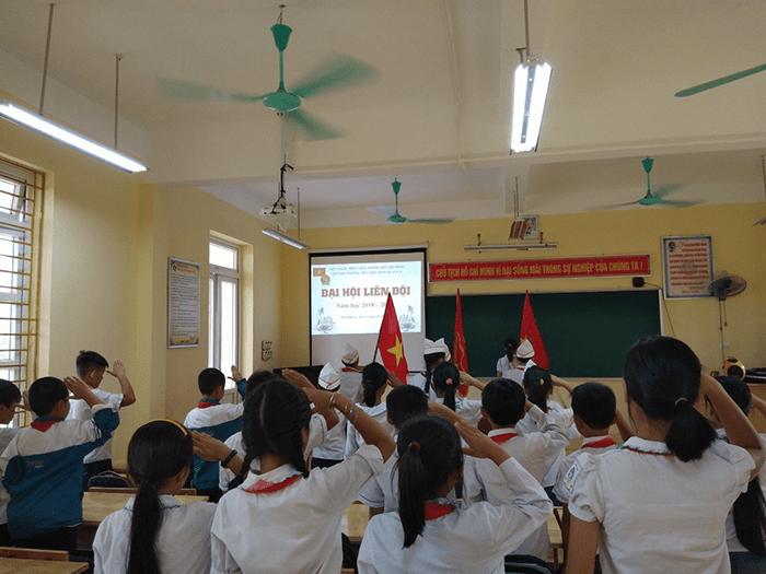 Trường tiểu học Minh Quang B - xã Minh Quang