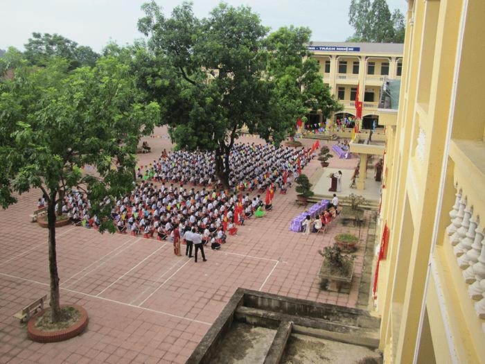 Trường tiểu học Thái Hòa - xã Thái Hòa