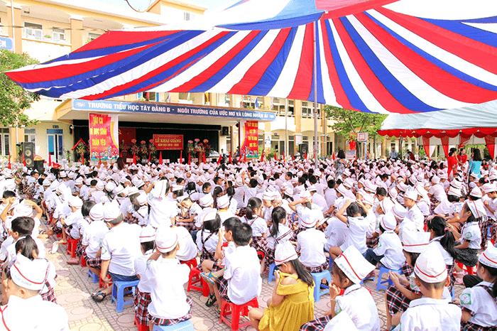 Trường tiểu học Tây Đằng B - Thị trấn Tây Đằng
