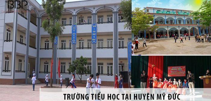 3 trường tiểu học tốt nhất tại huyện Mỹ Đức