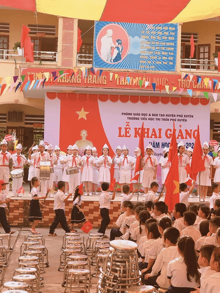 Trường tiểu học thị trấn Phú Xuyên