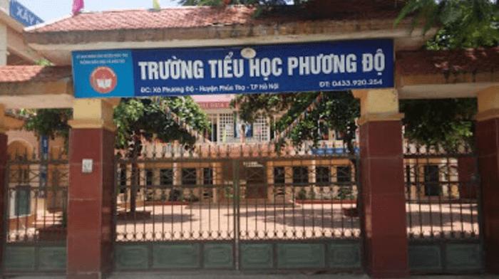 Trường tiểu học Phương Độ - xã Phương Độ