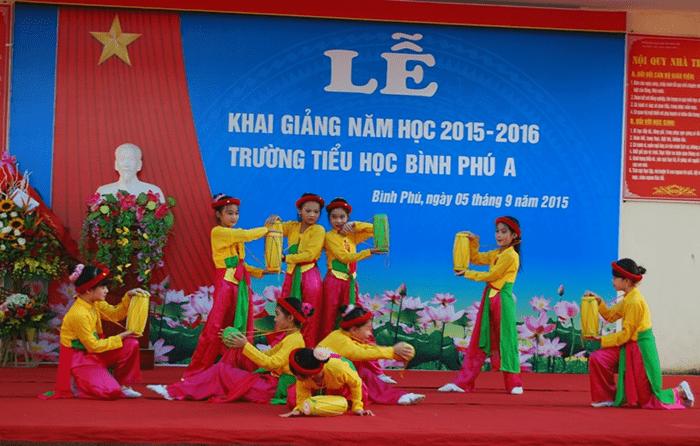 Trường tiểu học Bình Phú A - xã Bình Phú