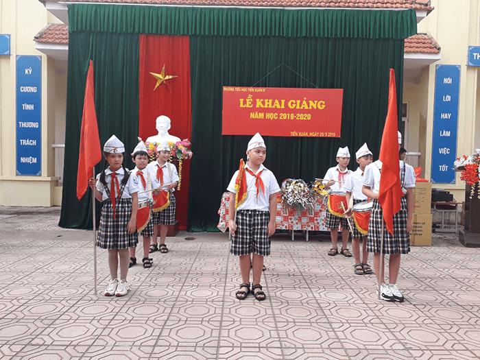 Trường tiểu học Tiến Xuân B - xã Tiến Xuân