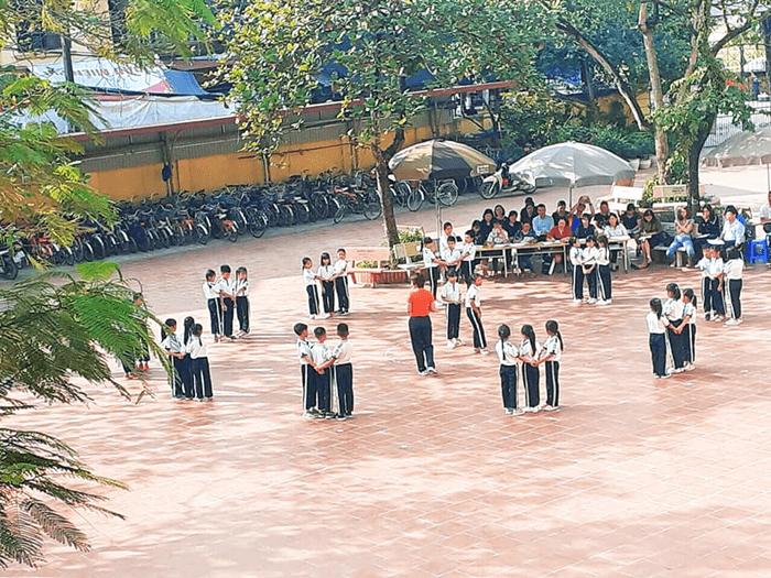Trường tiểu học Bình Minh A - xã Bình Minh