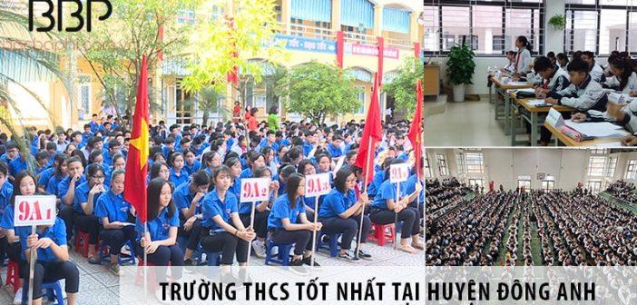 3 trường cấp 2 THCS chất lượng nhất tại huyện Đông Anh