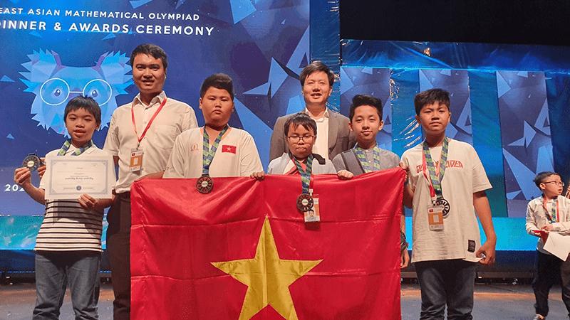 Học sinh trường THCS Ngô Sĩ Liên đạt giải trong kỳ thi toán quốc tế SEAMO