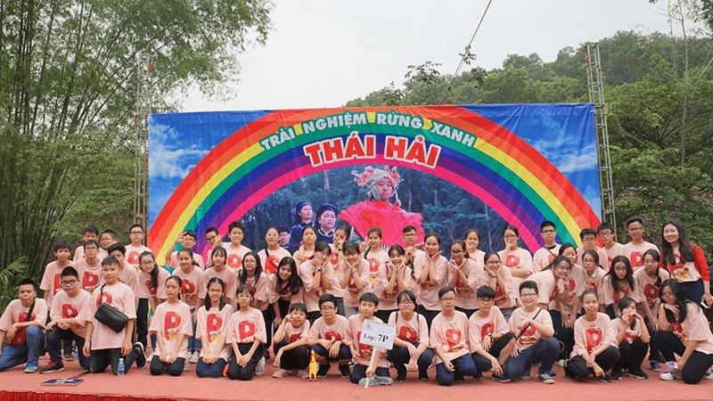 Học sinh trường THCS Nguyễn Du có chuyến tham quan dã ngoại tại khu du lịch sinh thái Thái Hải - Thái Nguyên