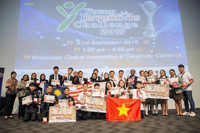 Trường THCS Ngô Sĩ Liên là trường duy nhất của Việt Nam đạt giải trong cuộc thi Thách thức các nhà phát minh nhỏ tuổi YIC tại Malaysia