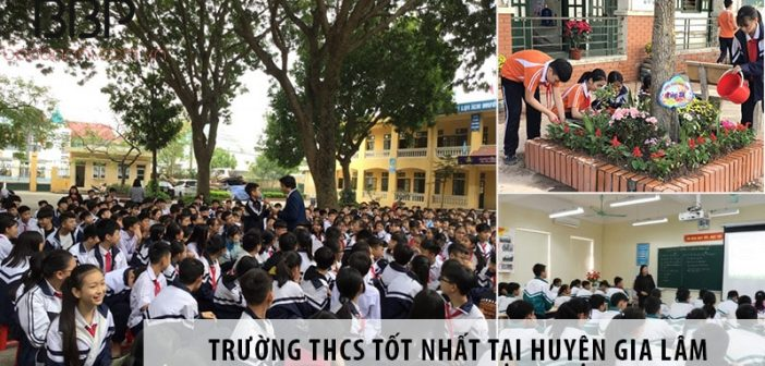 4 trường cấp 2 THCS tốt nhất tại huyện Gia Lâm, Hà Nội