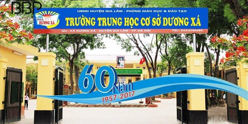 Trường THCS Dương Xá - huyện Gia Lâm