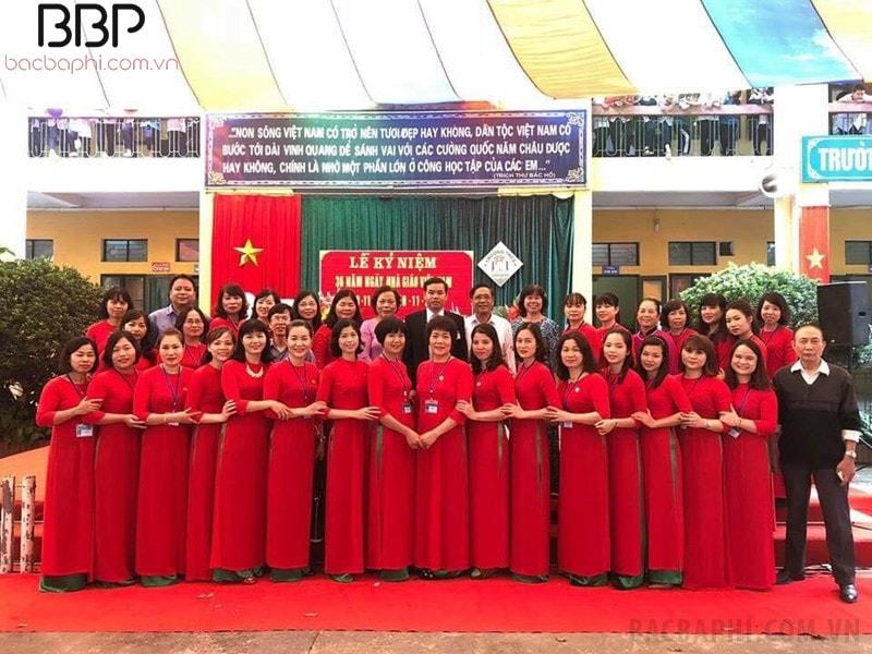 Trường THCS Đình Xuyên - huyện Gia Lâm
