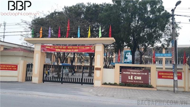 Trường THCS Lệ Chi - huyện Gia Lâm