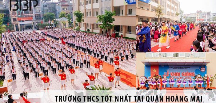 4 trường cấp 2 THCS tốt nhất tại quận Hoàng Mai