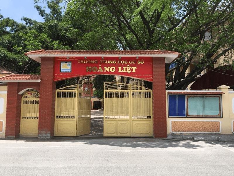 Trường THCS Hoàng Liệt - Phường Hoàng Liệt