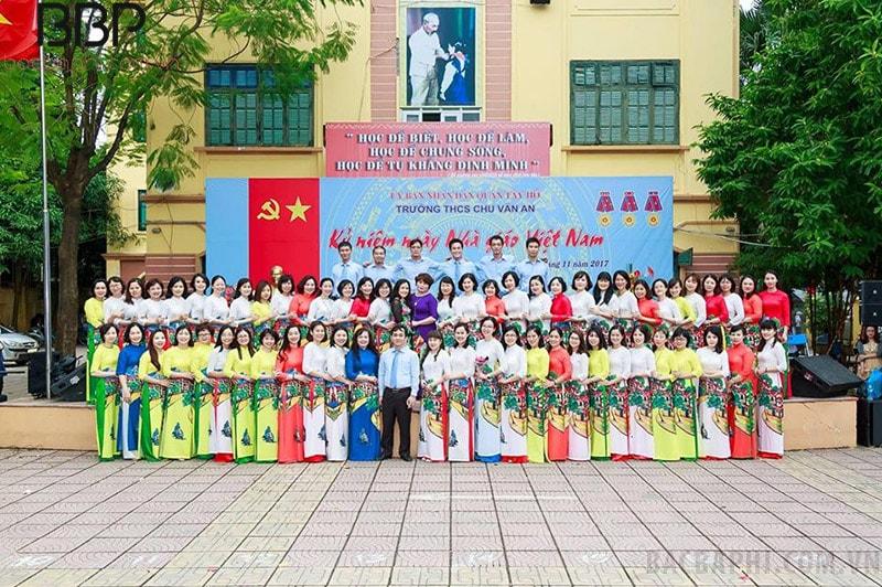 Trường THCS Chu Văn An - quận Tây Hồ, Hà Nội