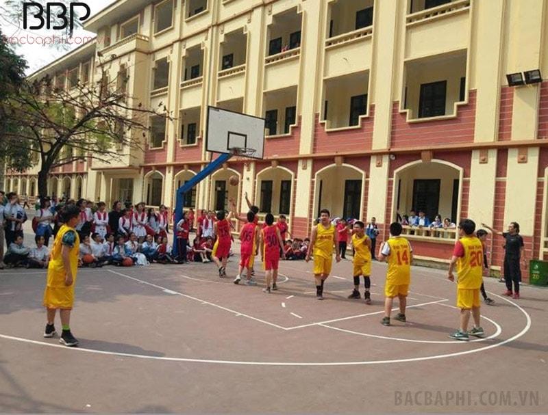 Giải bóng rổ nam của trường THCS Chu Văn An
