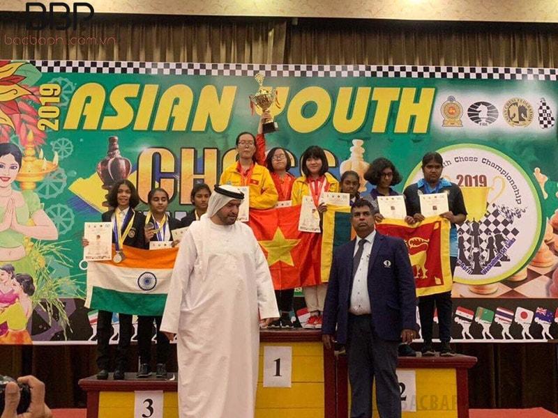 Học sinh trường THCS Chu Văn An đạt giải nhất trong cuộc thi cờ vua châu Á