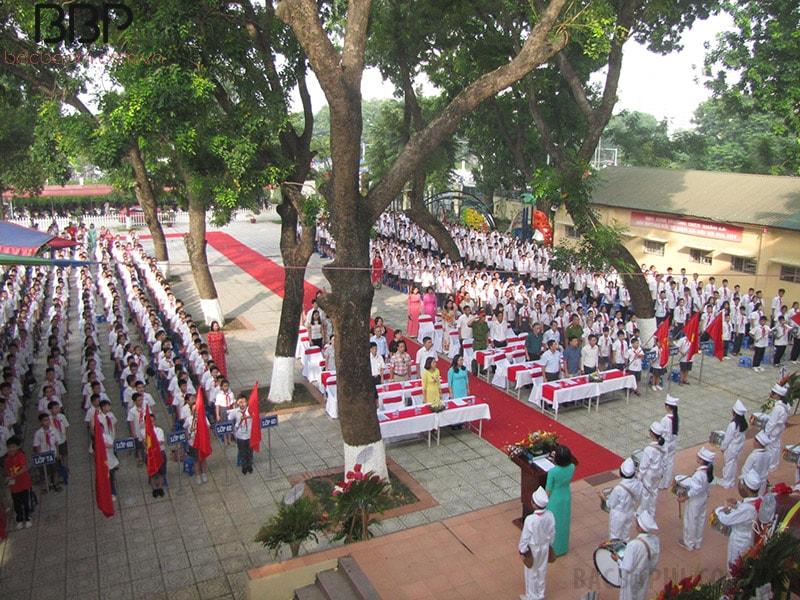 Lễ khai giảng của trường THCS Xuân La