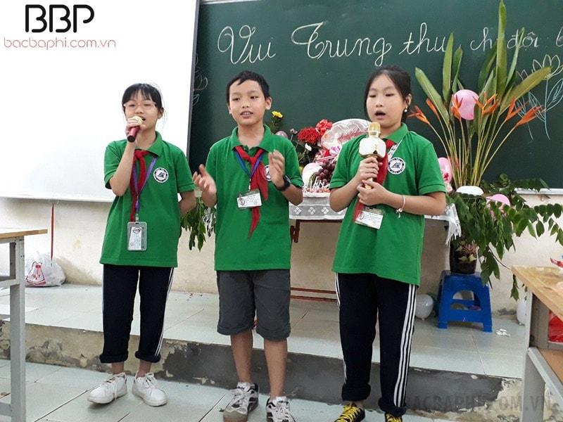 Hoạt động vui Tết trung thu của các em học sinh khối 6