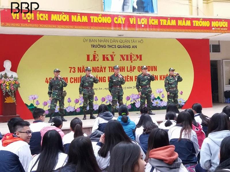 Lễ kỷ niệm ngày thành lập QĐNDVN và chiến thắng Điện Biên Phủ