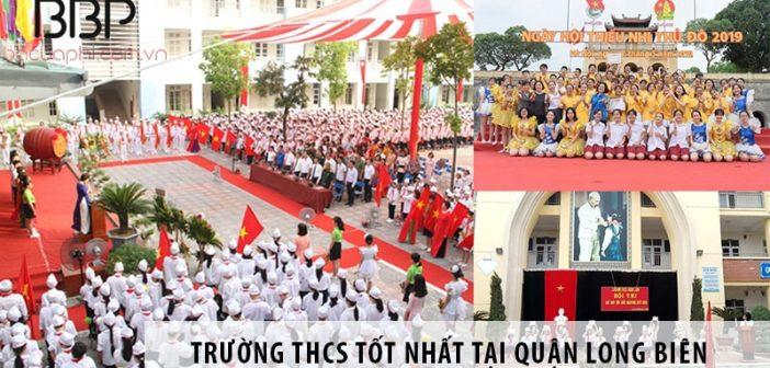 5 trường cấp 2 THCS tốt nhất tại quận Long Biên