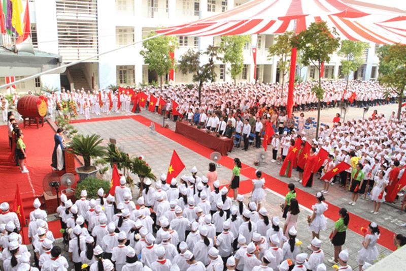 Trường THCS Ái Mộ - Phường Ngọc Lâm