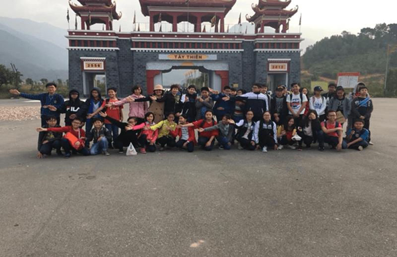 Chuyến tham quan tại danh thắng Tây Thiên của trường THCS Ái Mộ