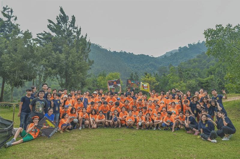 Hội trại hè của trường