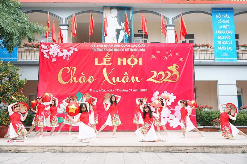 Lễ hội Chào xuân 2020 của trường THCS Trung Hòa