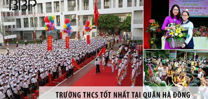 Top 3 trường cấp 2 THCS tốt nhất tại quận Hà Đông