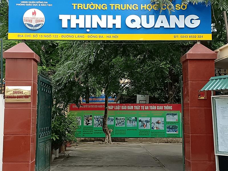 Trường THCS Thịnh Quang